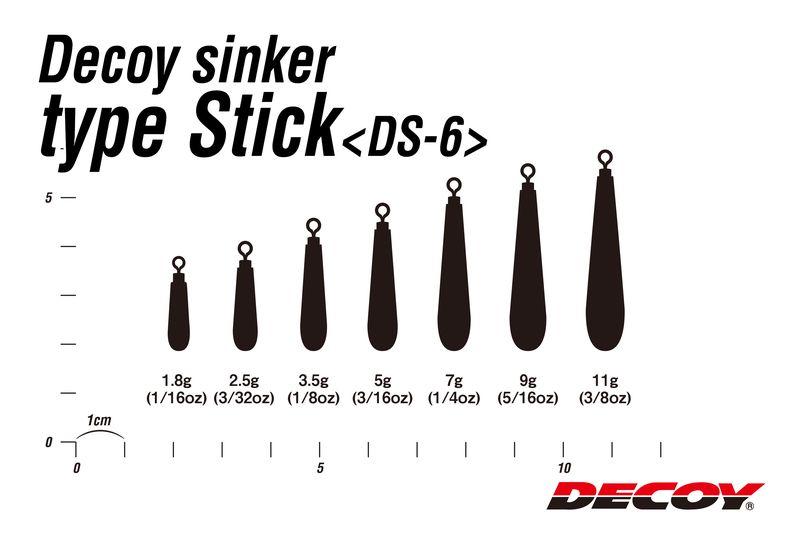 Vorschau: Sinker Type Stick DS-6