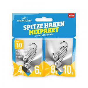 Vorschau: Spitze Haken Mixpaket 1/0