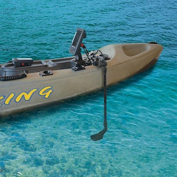 Kayak Echolotgeber-Halterungsset