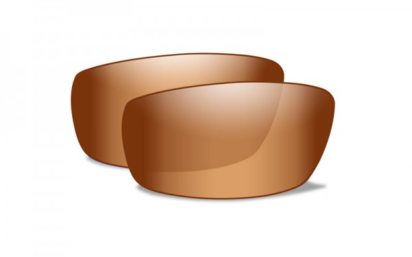 Gravity Extra Gläser Bronze Flash