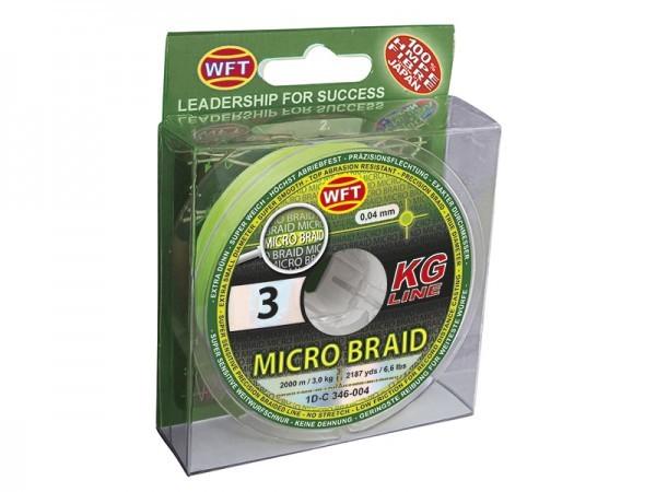 Micro Braid KG chartreuse 150m