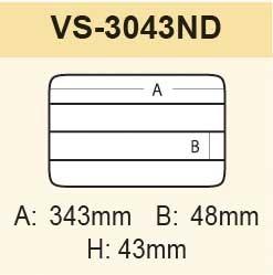 VS-3043ND schwarz