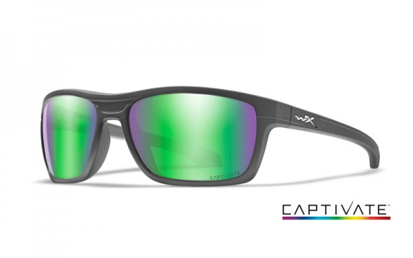 Kingpin Captivate Green Mirror