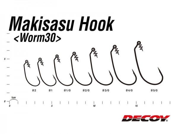 Maki-Sasu Hook Worm 30