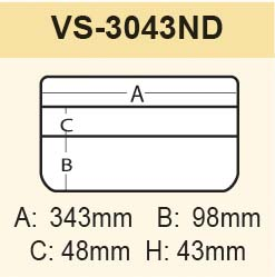 Vorschau: VS-3043 ND-2 schwarz
