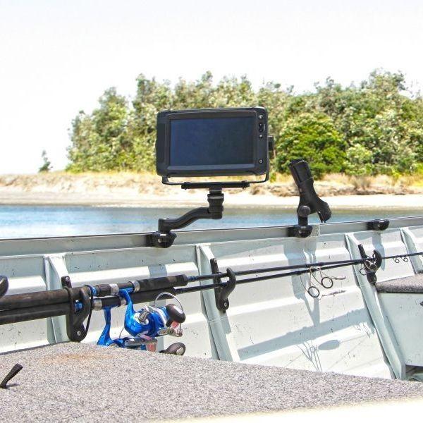 Swing-Arm R-Lock, schwenkbarer Arm für Plattform schwarz