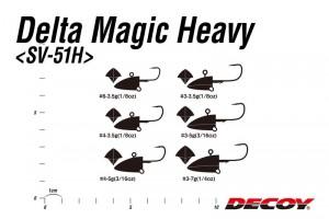 Delta Magic Heavy SV-51H