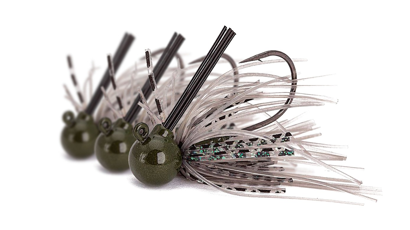 Skirted Tungsten Jigs