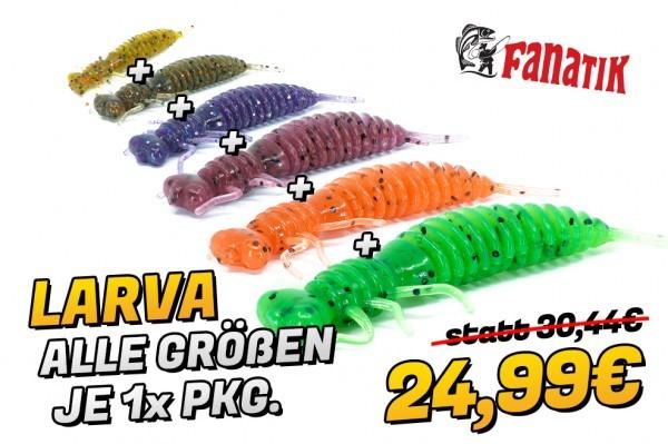 Larva - Alle Größen Set