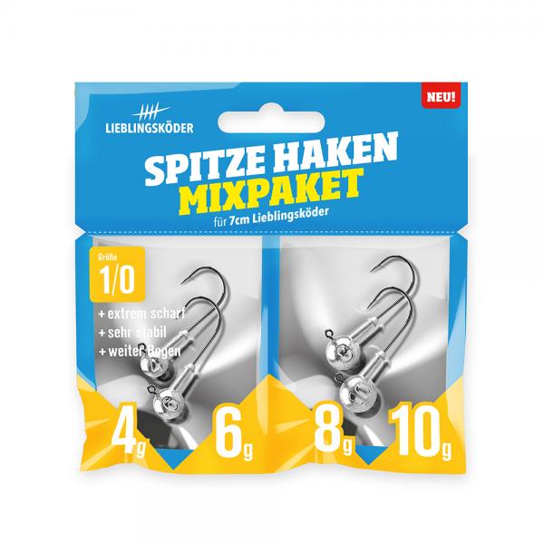 Spitze Haken Mixpaket 1/0