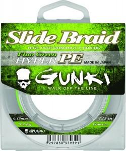 Vorschau: Slide Braid 125m Fluo Green Hyper PE